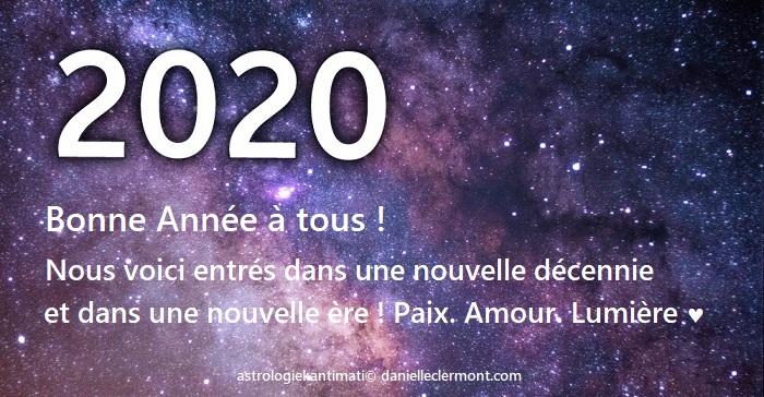 Message du 1er janvier 2020